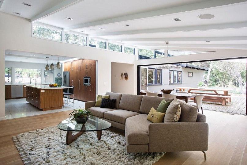 Компания Klopf Architecture представила отличную реконструкцию резиденции