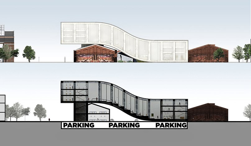 aarhus school of arch. proposal by paolo