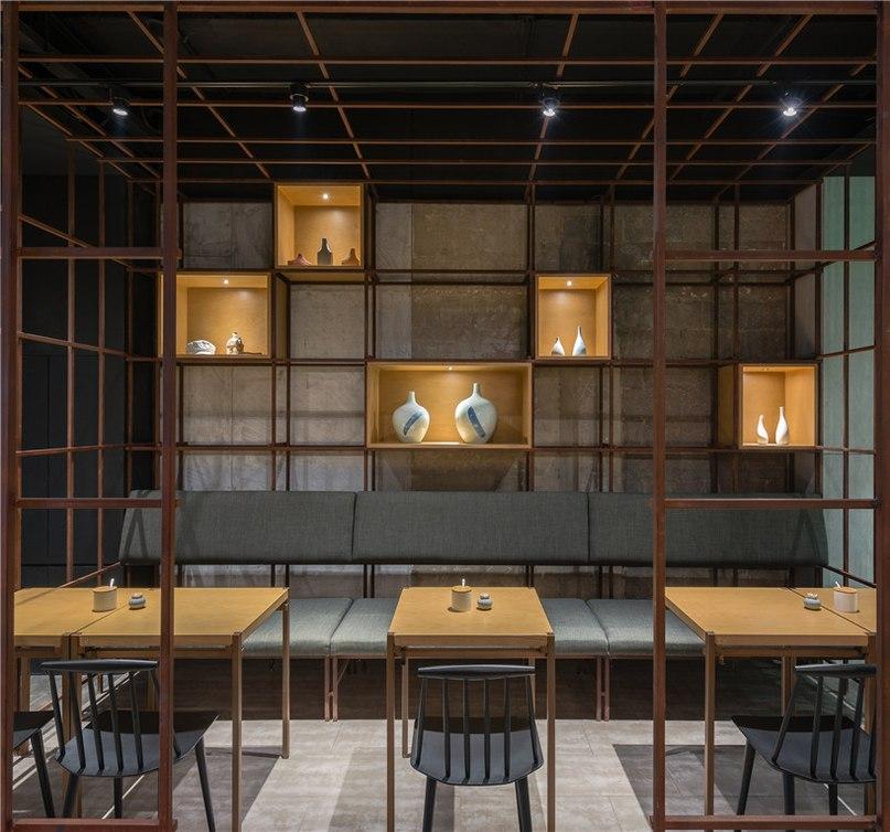 lukstudio designs interior of longxiaobao restaurant in