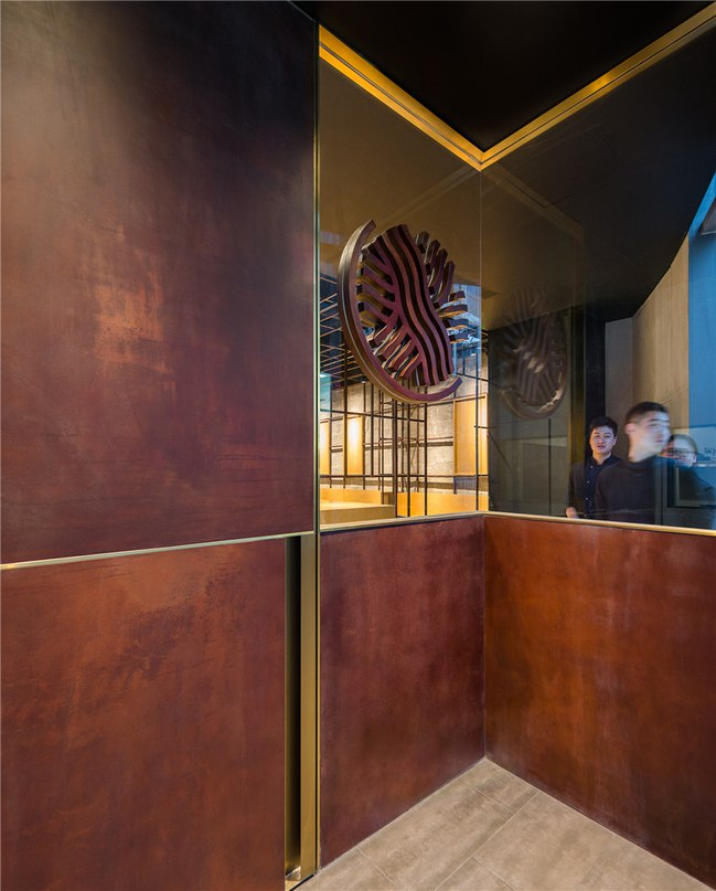lukstudio designs interior of longxiaobao restaurant in