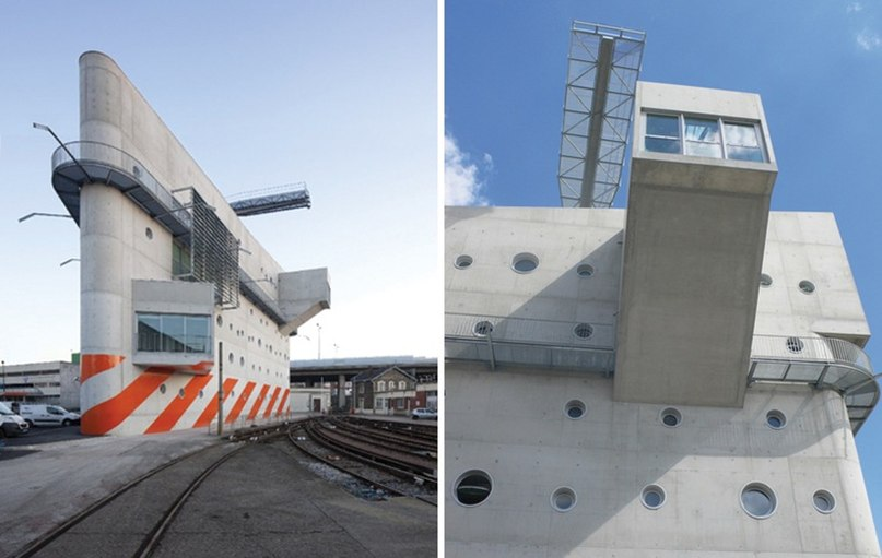 Центр компании RATP расположен в Porte de