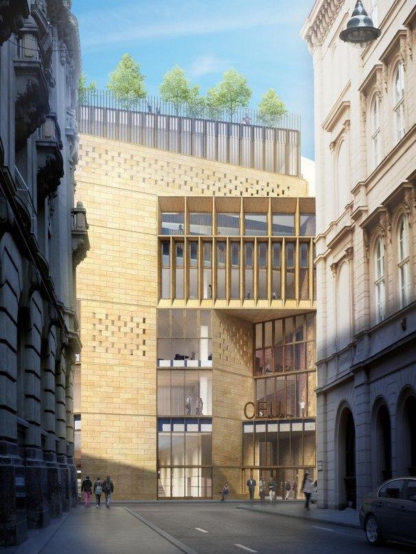 В Будапеште началась реконструкция кампуса Центральноевропейского университета