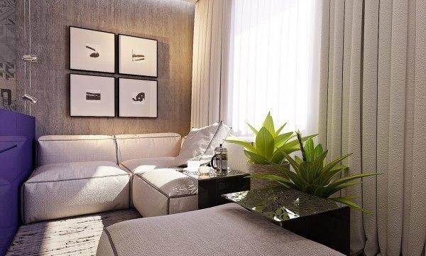 Проект квартиры в 29 кв.м.