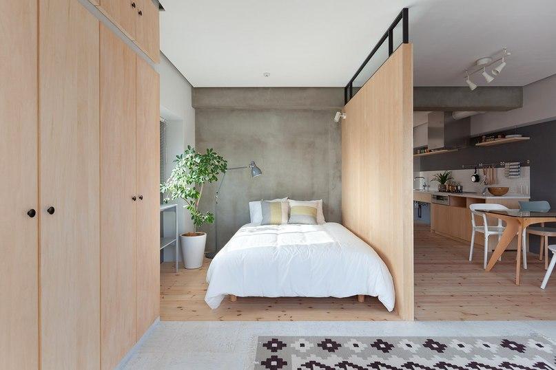 Реновация квартиры для женатой пары в Йокогаме  Архитекторы