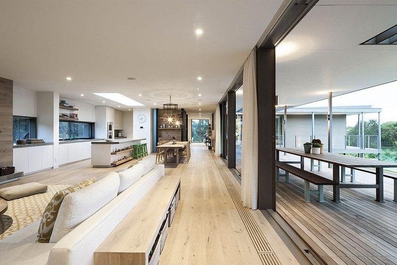 Стильный особняк на острове Морнингтон в Австралии  Резиденция