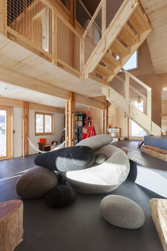 Дом для семьи с детьми в горах