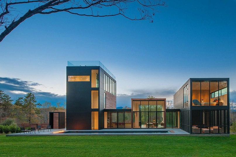 Современный дом в окружении живописной природы  Проект 4