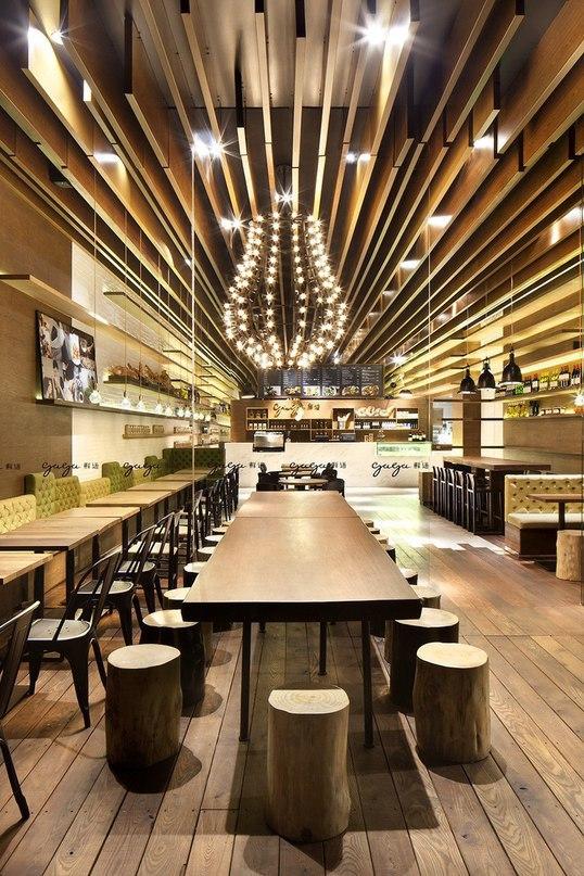 Уютное кафе Gaga в Шэньчжэне  В Китае в