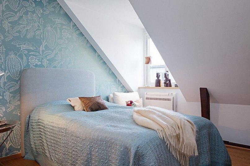 Уютный лофт с тремя спальнями с Стокгольме  Потрясающий