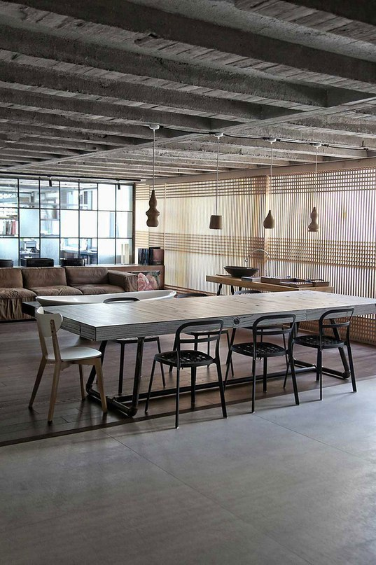 Лофт Faliro с рабочей студией в Афинах  Лофт