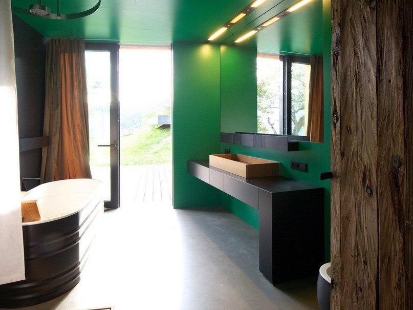 Современный фермерский дом в итальянской деревне  Проект Vicino