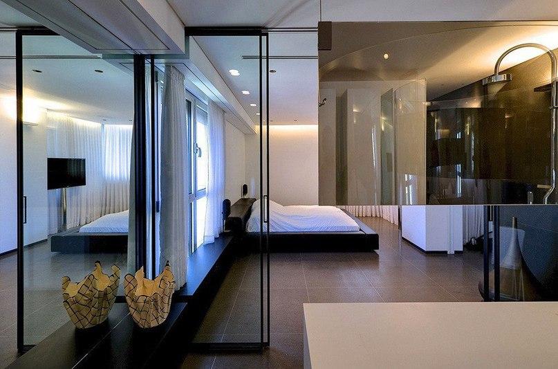 Квартира модного дизайнера в Тель-Авиве  Студия Pitsou Kedem