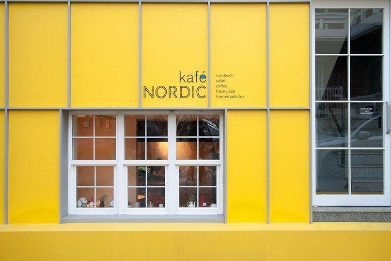 Уютное кафе Kafè Nordic в Сеуле  Kafè Nordic