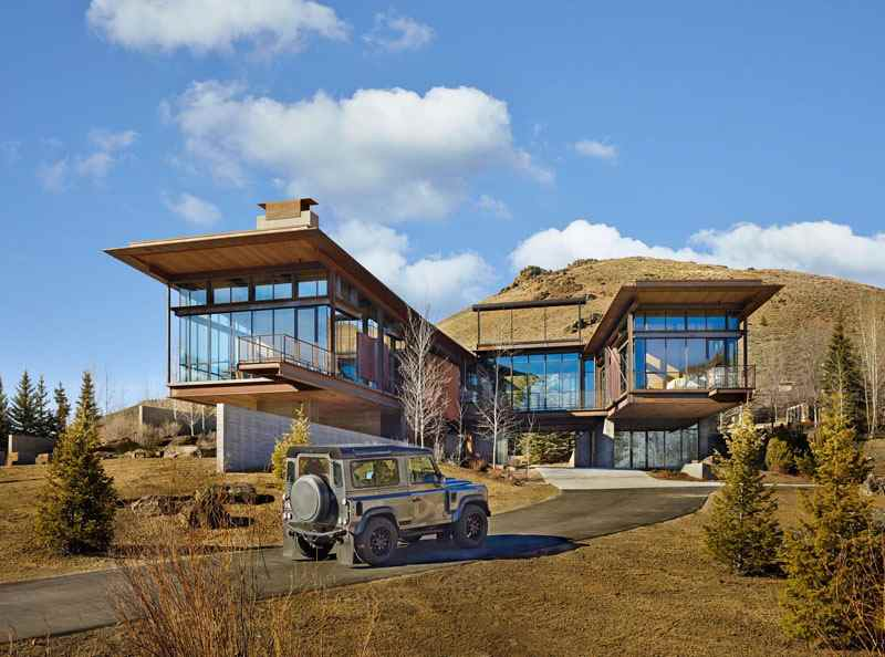 Консольный дом в штате Айдахо