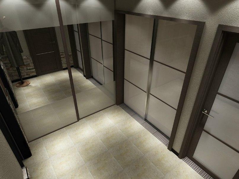 Однокомнатная квартира 43 кв. м