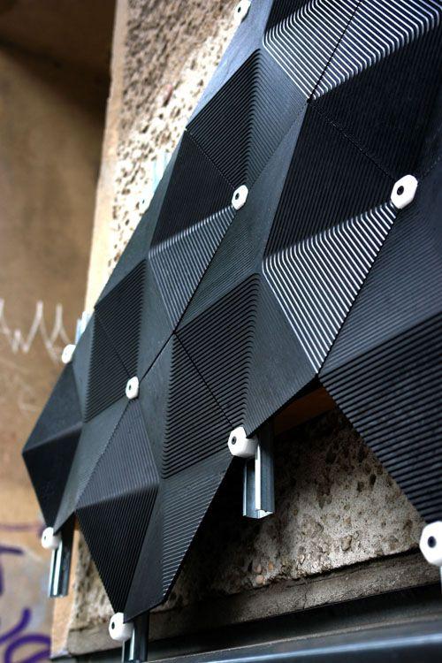 Яркие решения навесных панельных фасадов