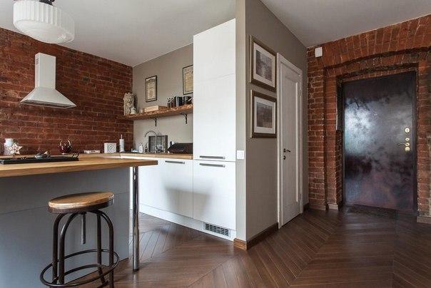 Маленькая уютная лофт - квартира