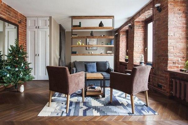 Маленькая уютная лофт — квартира