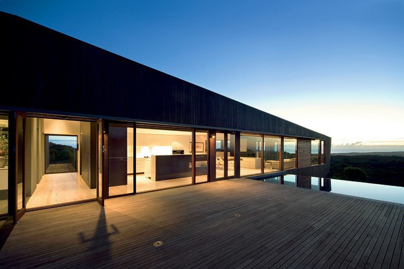 Cape Schanck House от Jackson Clements Burrows