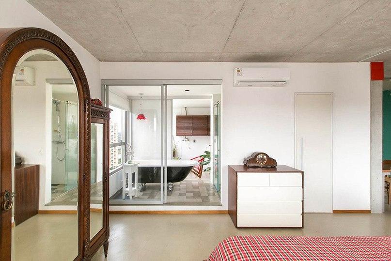 Квартира с индивидуальным стилем в Сан-Паулу  Проектная фирма