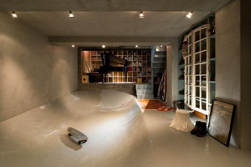 Скейтпарк и фортепиано в рамках одной резиденции