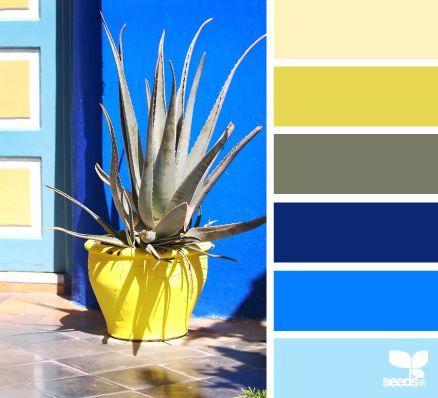 Цветовые палитры, цвет синий, голубой, бирюзовый.