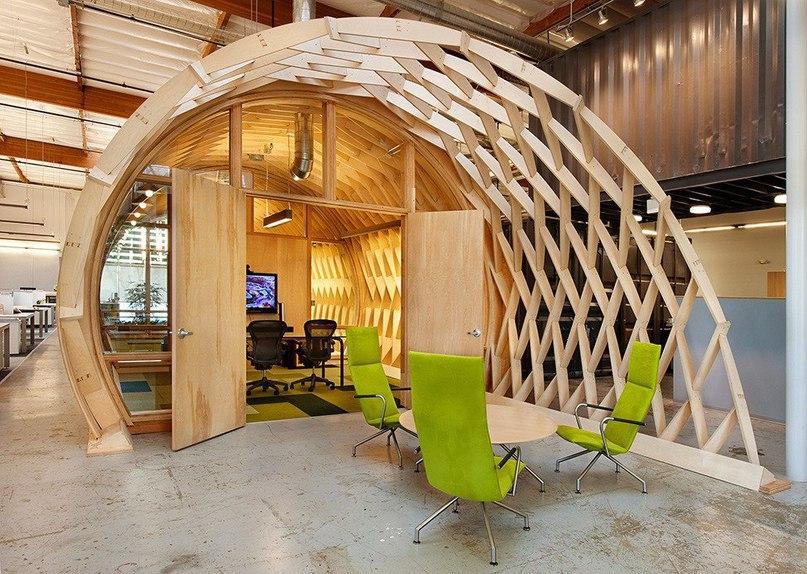 Офис проектного бюро Cuningham Group  Проектное бюро Cuningham
