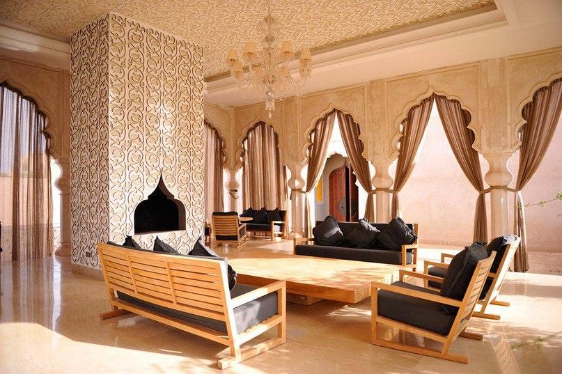 Экстравагантный отель Palais Namaskar в Марракеше  Palais Namaskar