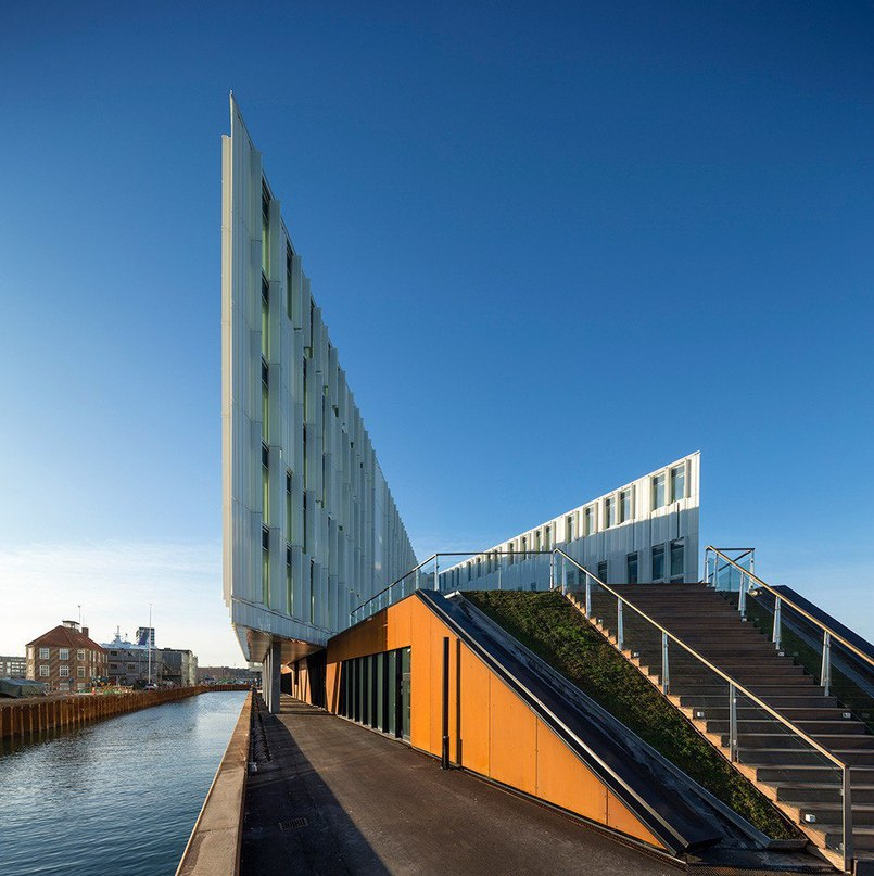 Штаб-квартира ООН в Копенгагене  UN City — это