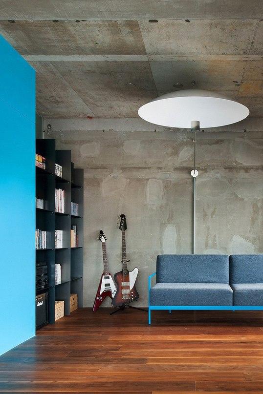 Квартира для жизни и работы в Японии  Архитектурное