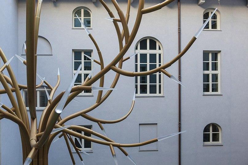 Реконструкция исторического жилого здания в Турине  The Number