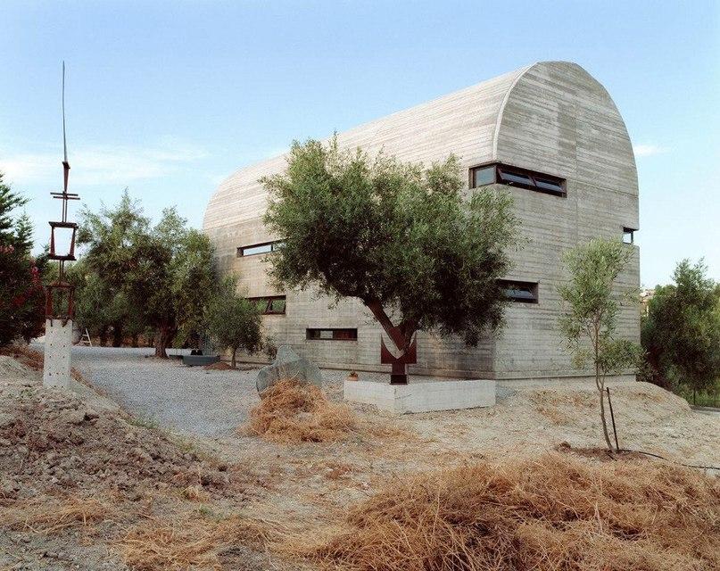 Мастерская художника в Греции от A31 Architecture  Art