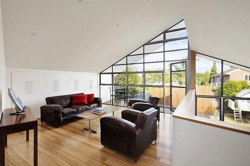 Игра контрастов в Мельбурне  Проект Blurred House был