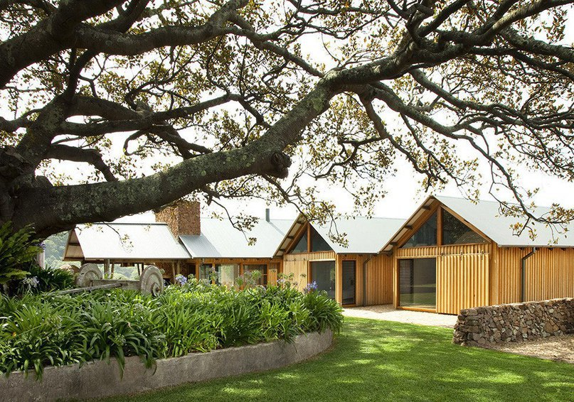 Масштабный проект фермерского дома в Австралии  Фермерский дом