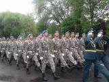 Талдықорғандағы әскери марш