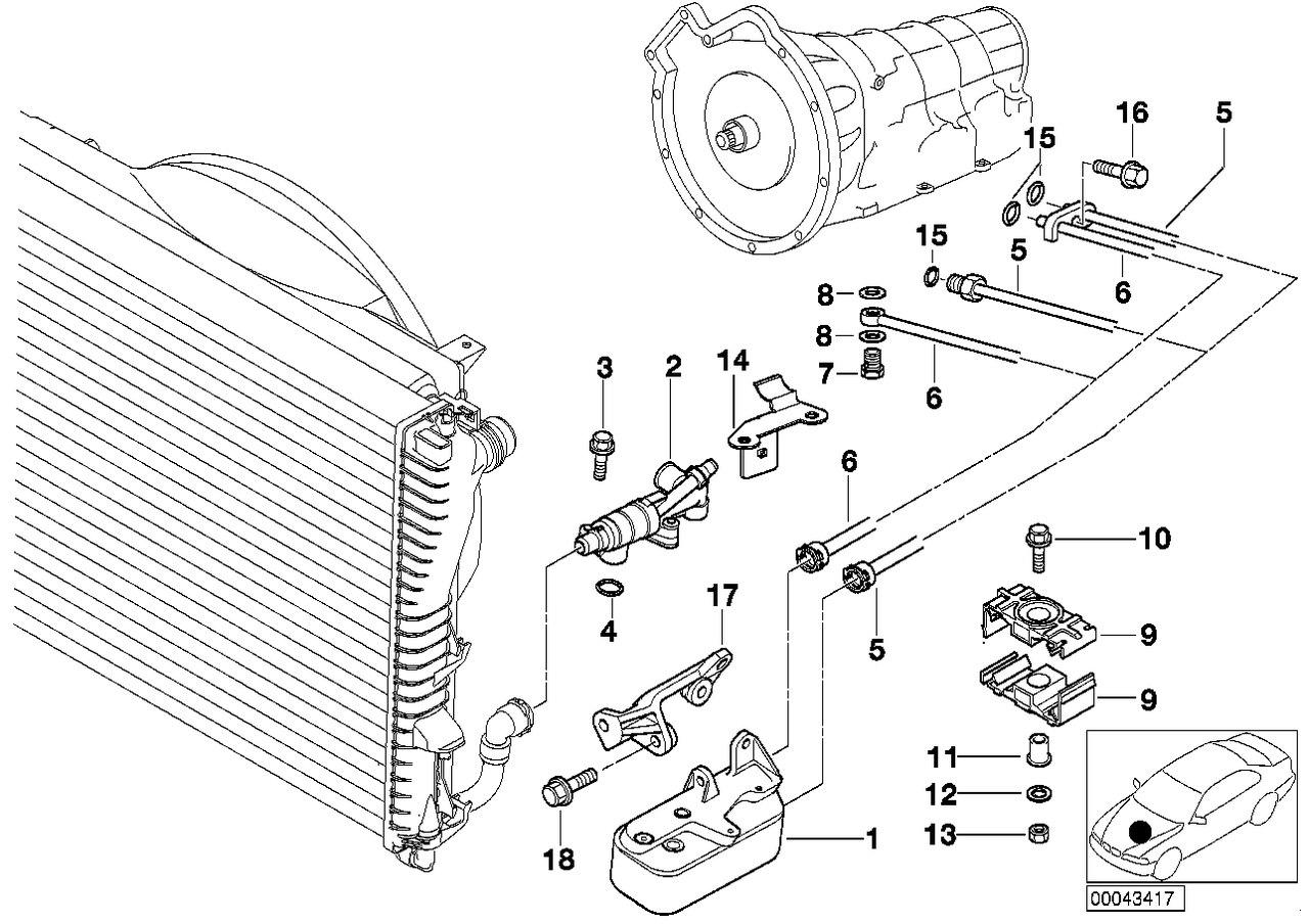 BMW E38 Club - Помогите опознать трубопровод АКПП.