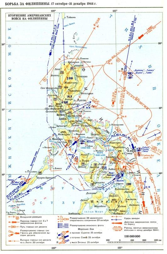 Борьба за Филиппины 1944