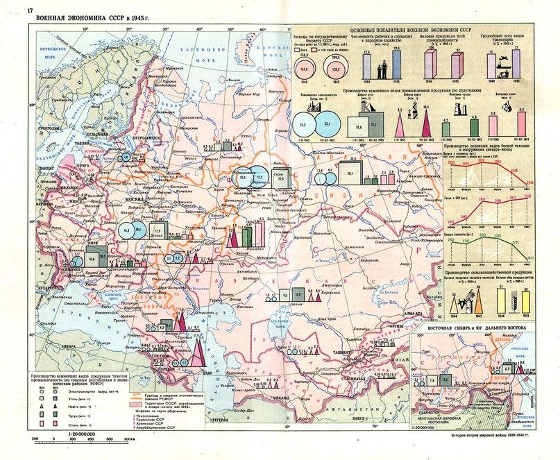 Военная экономика СССР 1945