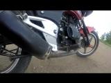 вечерние тренировки и краткий обзор мотоцикла Racer Magnum 200 stunt [В]гараже мотоциклиста