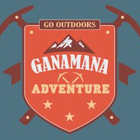 Логотип GanaMana Adventure Восхождение на Эльбрус