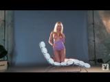 Shera Bechard - Playmate Xtra Purple Top Shoot