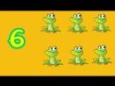 вивчаємо цифри легко рахуємо тваринок Розвиваюче відео для дітей українською мовою про цифри