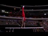 Одни из самых сложных и зрелищных элементов в спортивной гимнастике