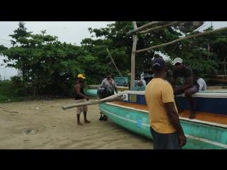 Рыбацкая жизнь в Индийском океане у берегов Шри-Ланки!