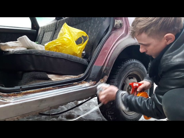 Гальваническая оцинковка порогов 2109 своими руками