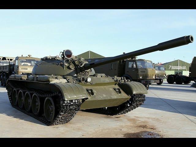 Внутри танка Т-55А