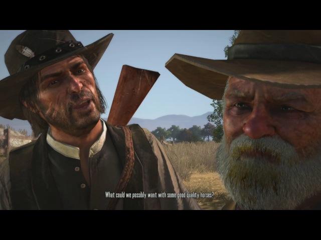 Прохождение Red Dead Redemption - Пасем коров и ищем новых жеребцов