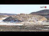 Работница бастующей шахты:
