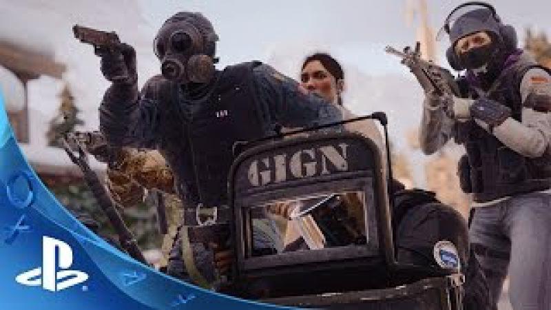 Tom Clancy's Rainbow Six Siege - Gameplay Trailer Fall 2015   PS4