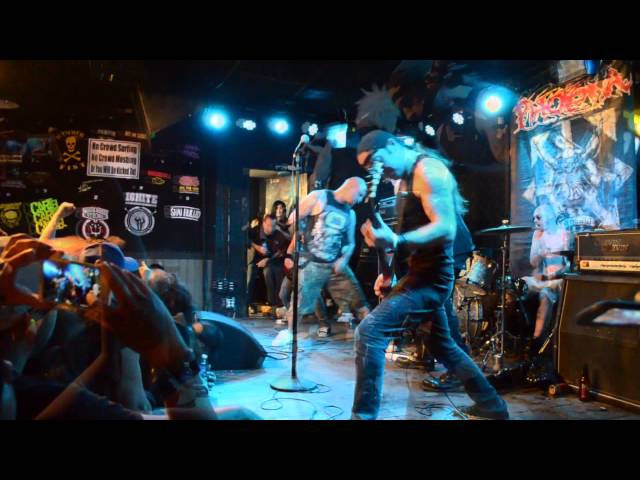 Extreme Noise Terror Live @ Anaheim, CA Friday April 3th, 2015 (Full HD)